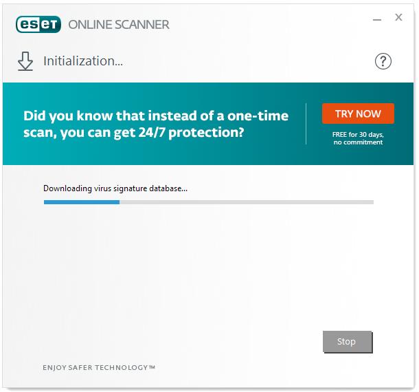 ESET Online Virus Scanner - Best Online Virus Scanner