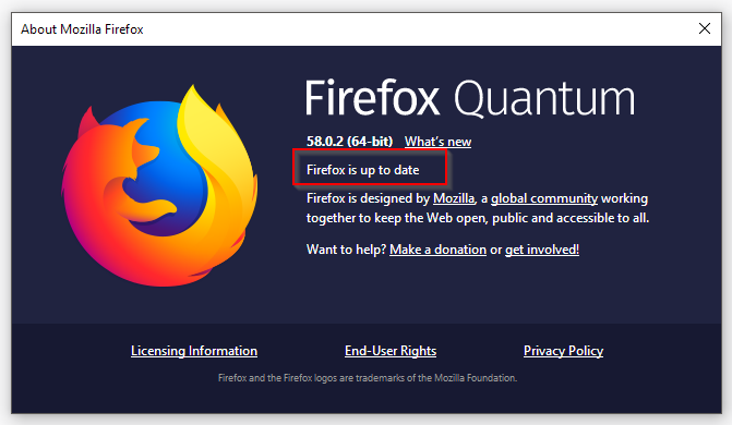 Firefox Update - How to Stop Malvertising