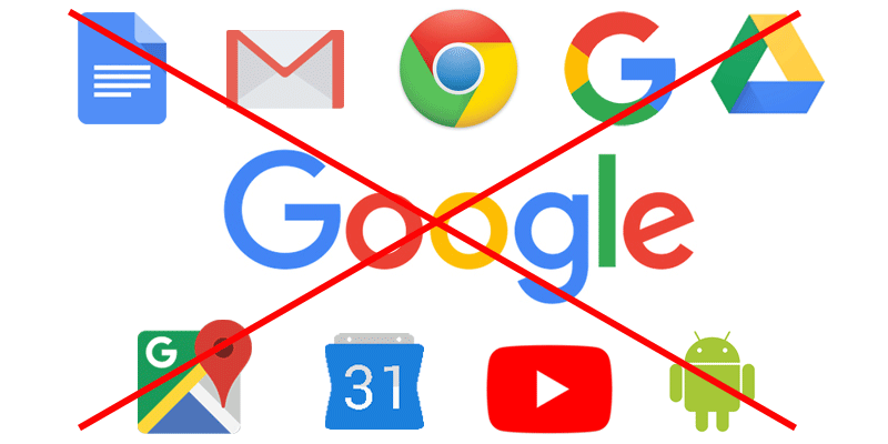 How to Remove Google from your Life