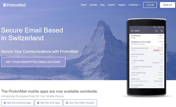 Remove Gmail from your Life with ProtonMail
