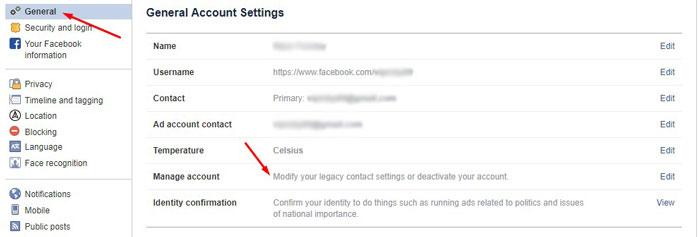 Deactivate Facebook 2