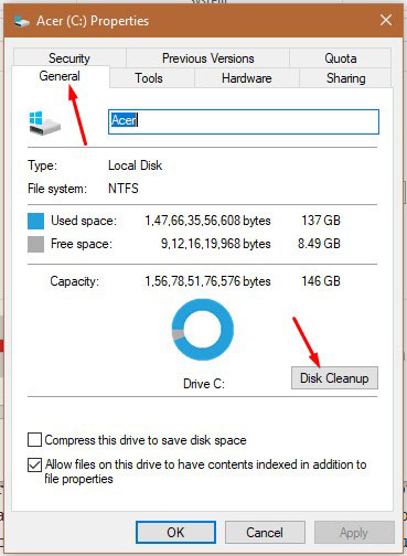 Disk Cleanup 1