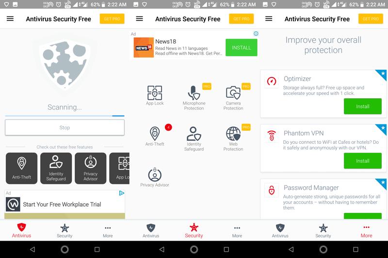 Avira - Top 10 Android Antivirus 2019