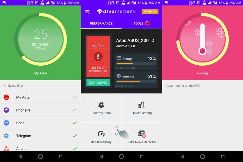 DFNDR Security - Best Android Antivirus 2019