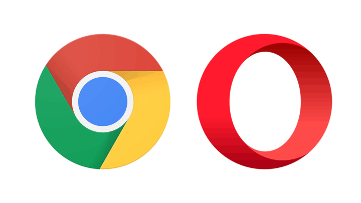 chrome and opera browser