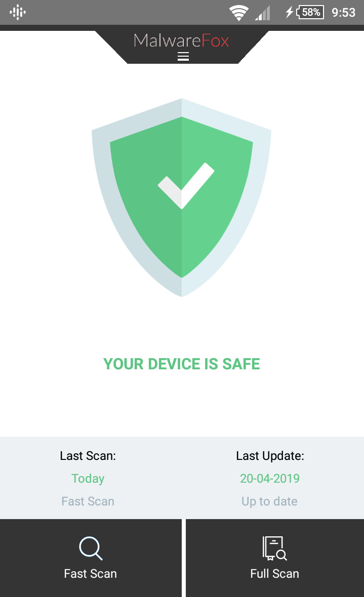 malwarefox for android