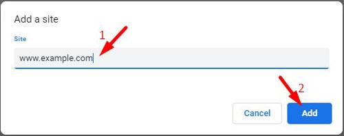 Block Specific Website Notification Request 2