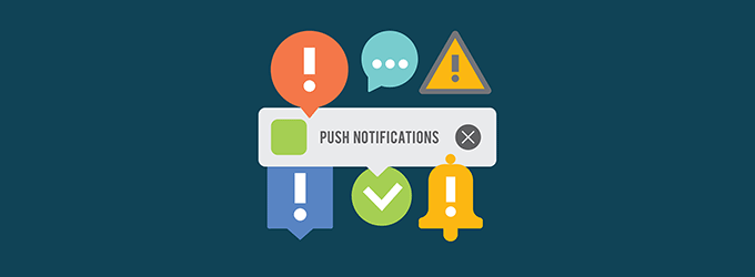 website notifications