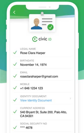Civic Secure Identity - Best WiFi Protection Apps