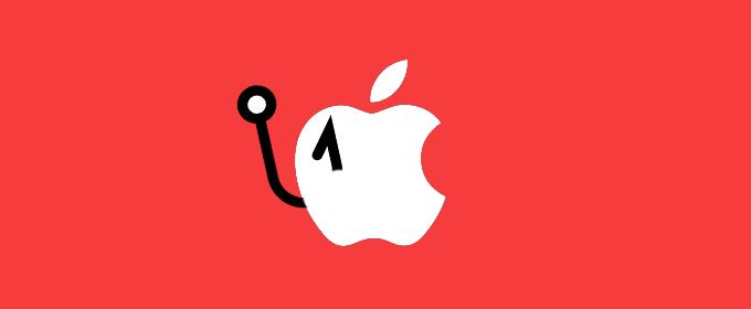 Apple id phishing scam