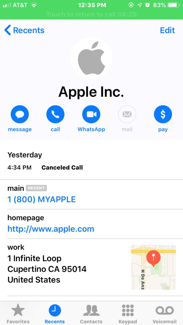 apple id phishing phonecall