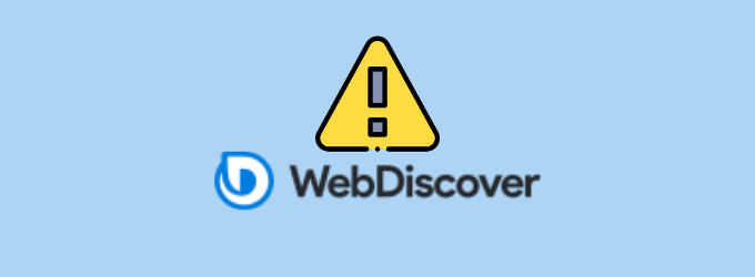 How to remove the WebDiscover browser from the system